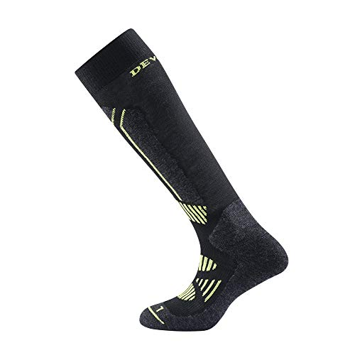 Devold Alpine Sock Schwarz, Merino Socken, Größe 35-37 - Farbe Black