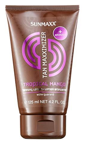 Sunmaxx Tan Maxximizer - Lotion de bronzage - Au parfum de mangue tropicale - 125 ml