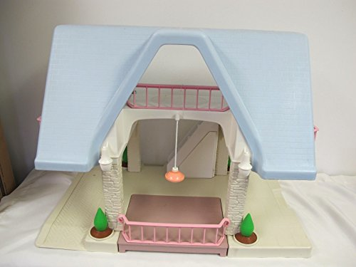 Vintage Little Tykes Dollouse with Blue Roof