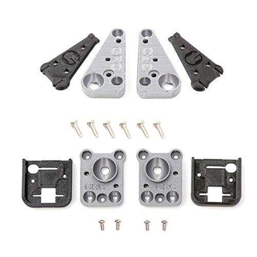 XUNJIAJIE 1 Set Vorne&Hinten Auto Lichter Shell Bracket Lampenschirm for TRAXXAS TRX-4 RC Crawler Car