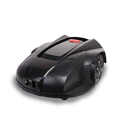 UYZ Cortacésped robótico, accionamiento eléctrico de Litio, Carga automática Inteligente Inteligente, construcción de césped Completamente Inteligente, Negro
