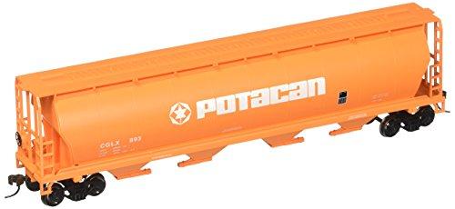 Bachmann Trains Potacan 4 Bay cylindrique Grain Hopper-Ho Échelle