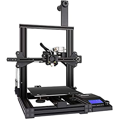ANYCUBIC 3D Printer, Upgrade Mega Zero 2.0 FDM 3D Printer with Fast Heating, Magnetic Printing Bed and Auxiliary Leveling, Works with TPU/PLA/ABS/HIPS/PETG/WOOD, 8.6(L)x8.6(W)x9.8(H)in Printing Size