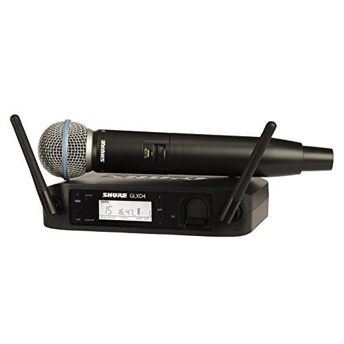 Shure - Glxd24e-b58 microfono inalambrico digital de mano beta 58