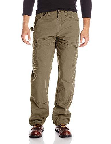 Wrangler Riggs Workwear Men's Ranger Pant,Bark,36x32 (Riggs Utility Jeans)
