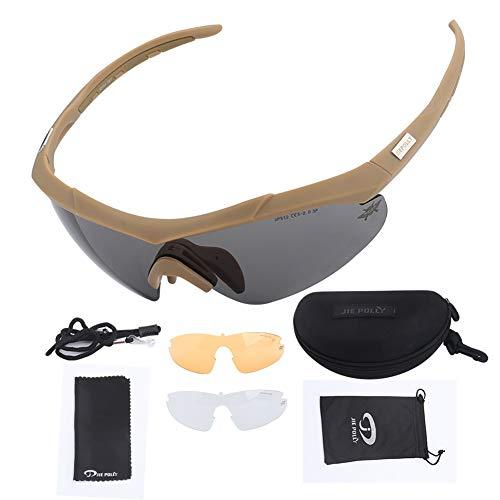 Rzj-njw New Polarized Skilanglauf Brille Polarisierende Reitbrillen Skibrille Sport-Sonnenbrille Snowboard Fashion,Braun