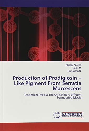 Production of Prodigiosin – Like Pigment From Serratia Marcescens: Optimized Media and Oil Refinery Effluent Formulated Media