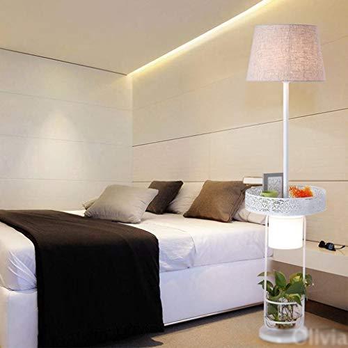 Stehleuchte Helle Torchiere Led Kreative Stehlampe, Wohnzimmer Nachttischlampe Rural Nordic Rural amerikanische Art-Haus-Fußboden-Licht europäischen Vertikal Regal Eye-Pflege Vertikal-Fußboden-Licht H