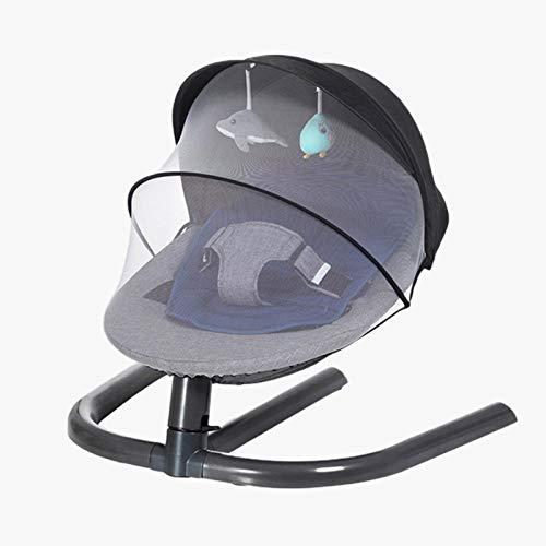 Lancei Baby Schaukelstuhl, Strahlungsfreier Baby Schaukelstuhl, Ergonomisches Design, Maximales Gewicht 30 Kg, Das Beste Geburtsgeschenk Für Neugeborene.