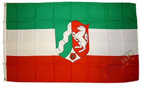 Nordrhein Westfalen NRW Flagge Großformat 250 x 150 cm wetterfest Fahne