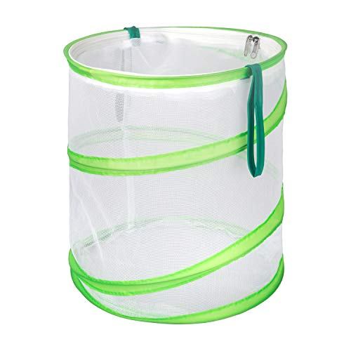 Trasfit Pop-up Insect and Butterfly Habitat Cage Terrarium – 12 x 14 Inches Tall