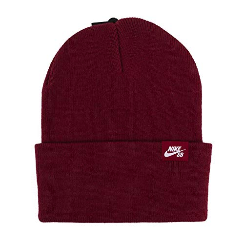 Nike SB Utility Cuffed Beanie (Team Red, Unisex, One Size)