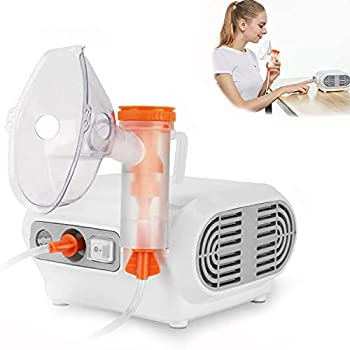 MAYLUCK Portable Compressor Nebulizer Nebulizer Machine with 1 Set Accessory Jet Nebulizers Personal Steam Inhaler Cool Mist Compressor System for Kids Adults