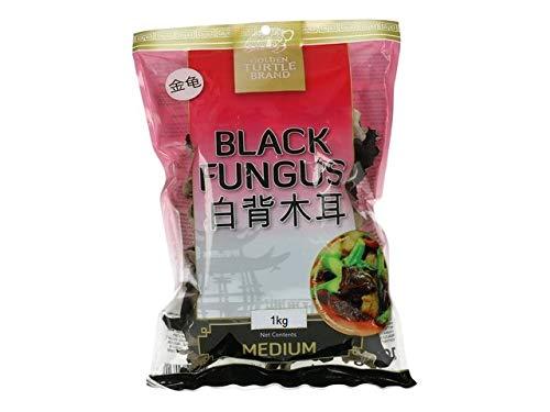 1000g Mu Err Pilze getrocknet Morcheln White Black Fungus Zwammen Asia