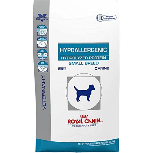 Price comparison product image Royal Canin Veterinary Diet Canine Hydrolyzed Protein Small Dog Dry Dog Food,  8.8 lb