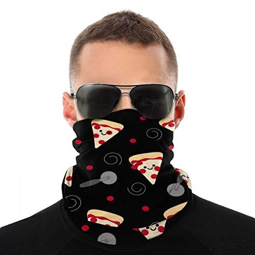 Cortador de pizza, accesorio protector para la cara, pasamontañas y cuello