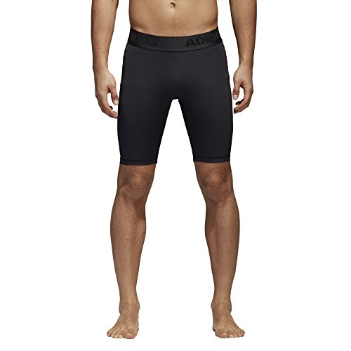 adidas Men's Alphaskin Sport Short Tights Black Large