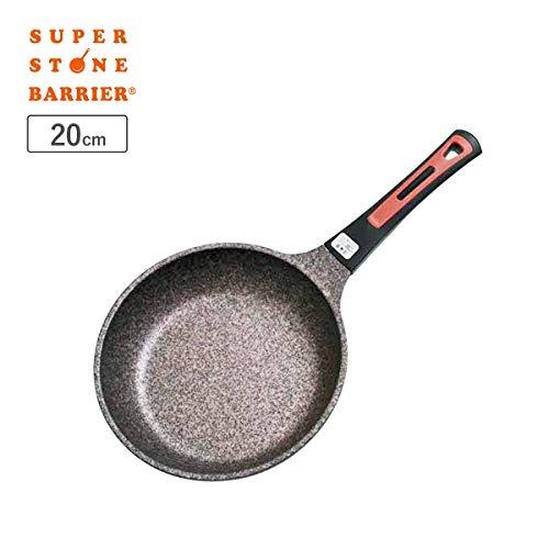 スーパーストーンバリアフライパン(20cm)