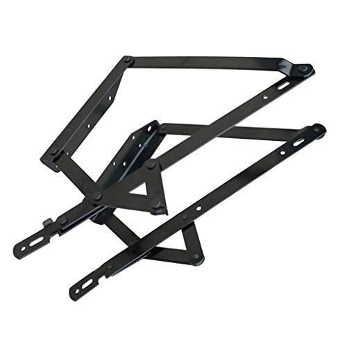 H HILABEE Mecanismo de Almacenamiento de Sofá Cama de Metal Ajustable Bisagra de Elevación de Cama Muebles para El Hogar