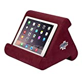 Flippy iPad Tablet Stand Multi-Angle Portable Lap Pillow for Home, Work & Travel. Our iPad and Tablet Holder Has Three Viewing Angles for All iPads, Tablets & Books. (Nebbiolo)