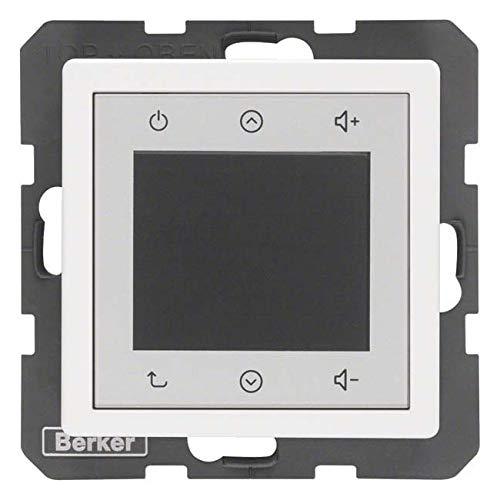 Berker Radio Touch 28846089 polarweiß samt Q.1;Q.3 Elektronik-Gerät für Installationsschalterprogramme 4011334412489