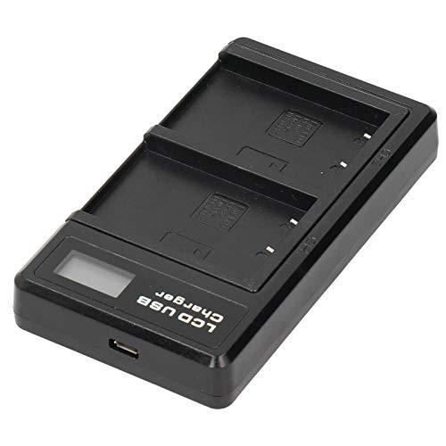 DAUERHAFT Cargador de batería portátil para cámara, para fotografía al Aire Libre Cable USB