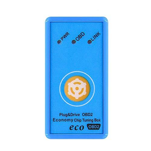 Yunhigh Antriebskraft Prog ECO OBD2 Auto-Chip-Tuning-Box für Diesel- / Benzinautos Reset-Funktion Fuel Saver