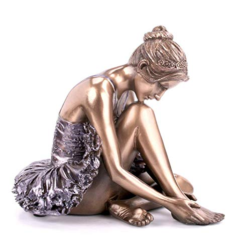 Elaborar, frío de bailarina de bronce fundido Escultura de bronce Beauchamp