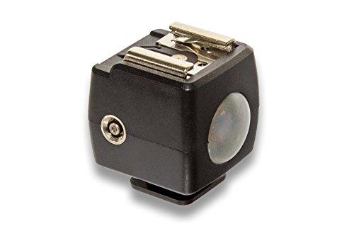 vhbw Servo Blitzauslöser passend für Canon Blitzgeräte z.B. Canon Speedlite 540EX, 580EX, 580EX II, 600EX, 600EX-RT, 90EX.