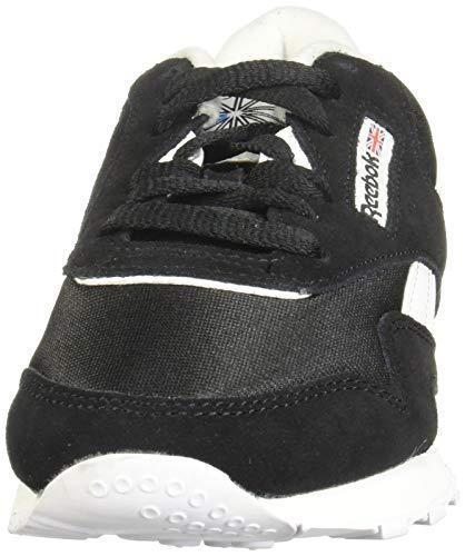 Reebok Classic Nylon, Sneaker Mujer, Black/Black/White, 39 EU