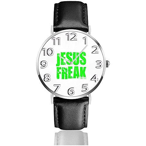 Orologio da polso Etichetta Me A Jesus Freak Logo Orologio al quarzo casual classico Orologi da lavoro