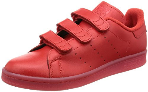 adidas Unisex-Erwachsene Stan Smith Cf Basketballschuhe, rot, 42 EU