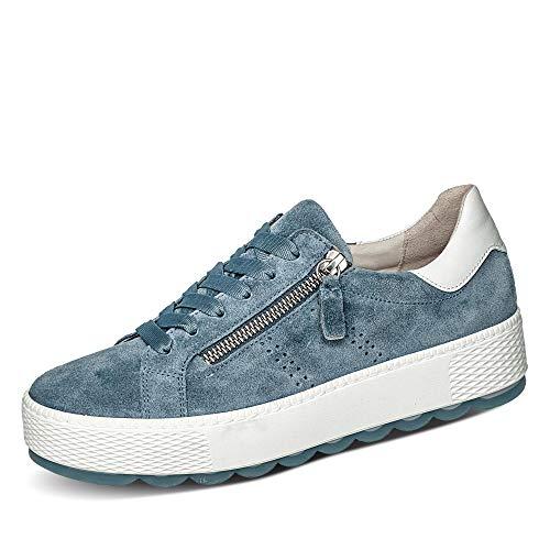 Gabor Zapatillas de skate para mujer, color Azul, talla 39 EU