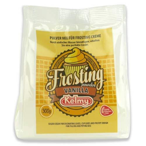 Kelmy Frosting Pulver Vanille, 300g