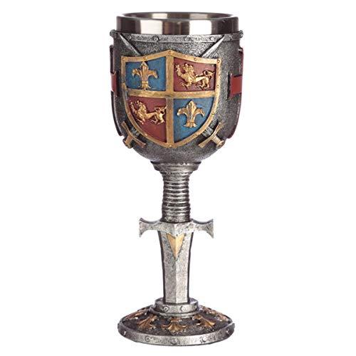 Puckator Copa Decorativa para Escudo de Armas, Resina, Multicolor, Height 19cm Width 7.5cm Depth 8cm