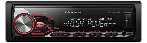 Pioneer PIO01MVH280FD MVH-280FD autoradio zwart