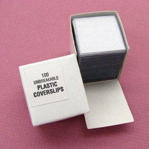 SEOH 18mm x 18mm Plastic Cover Slips (pk of 100)