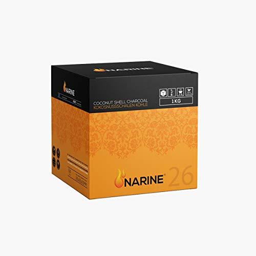 NARINE - Carbón de coco para cachimba (1 kg)