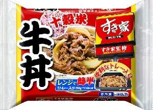 【冷凍】すき家 十穀米牛丼 210gX6袋