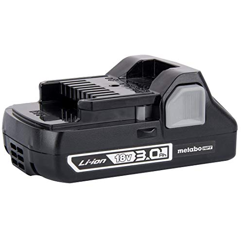 Metabo HPT 18V Battery, 3.0 Ah, Lithium-Ion, Slide Style, Compact and Lightweight Design (339782M)