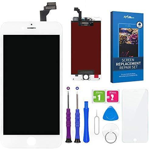 FLYLINKTECH Touch Screen per iPhone 6 Plus Schermo Display LCD Vetro Digitizer Parti di Ricambio Kit Smontaggio trasformazione Completo di Ricambio - Utensili Inclusi