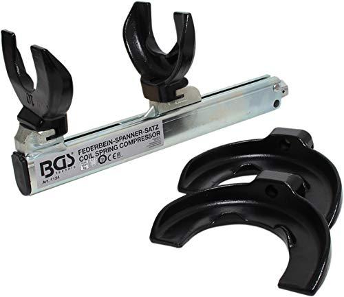 BGS 1134 | Federspanner-Satz | 1500 kg | Fahrweksfeder | Montagespanner |Federbein | Federbeinsysteme