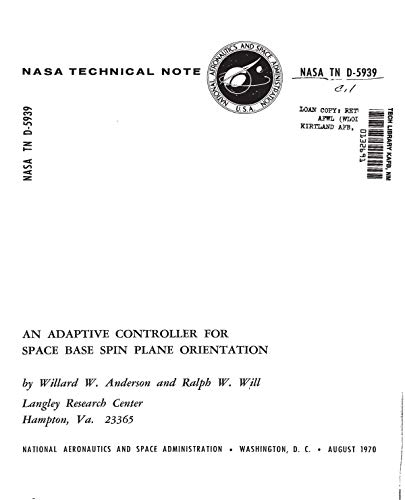 An adaptive controller for space base spin plane orientation (English Edition)