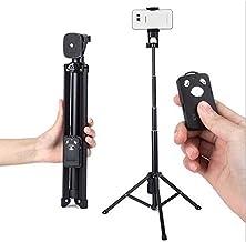 Selfie Sticks - Portable Bluetooth Selfie Stick Tripod Extendable Monopod Remote Shutter for BlackBerry DTEK 60 KEY 2 KEY one for Lenovo Z6 Pro