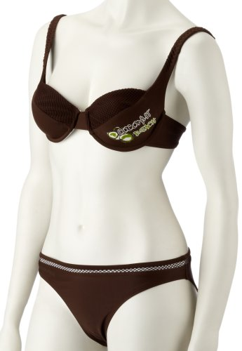 Camaro Damen Bikini Coconut, braun, XS