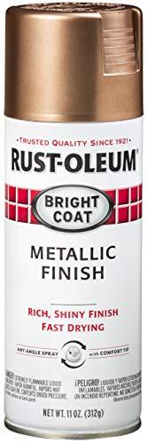 Rust-oleum 344733-6pk stops rust bright coat metallic spray paint, 6...