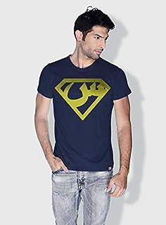 Creo Arabic Superman Logo Trendy T-Shirts For Men - L