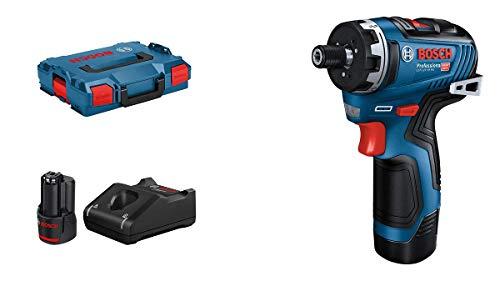 Bosch Professional 12V System Akku-Bohrschrauber GSR 12V-35 HX (inkl. 2x3,0 Ah Akku, Ladegerät GAL 12V-40, in L-BOXX)