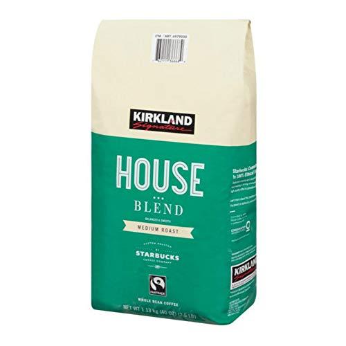 カークランド スターバックスロースト ハウスブレンドコーヒー 1130g ×1130g レギュラー(豆)