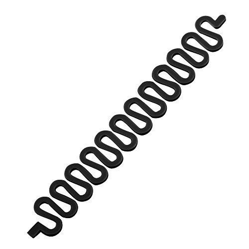 Vococal® 6 Stk DIY Französisch Haar Styling Clip Stick - Haar Zopf Flechter Zopf Werkzeug Tool, Schwarz